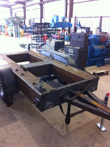 Fuel Cell Frame Trailer
